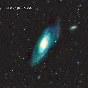 NGC4258 = M106